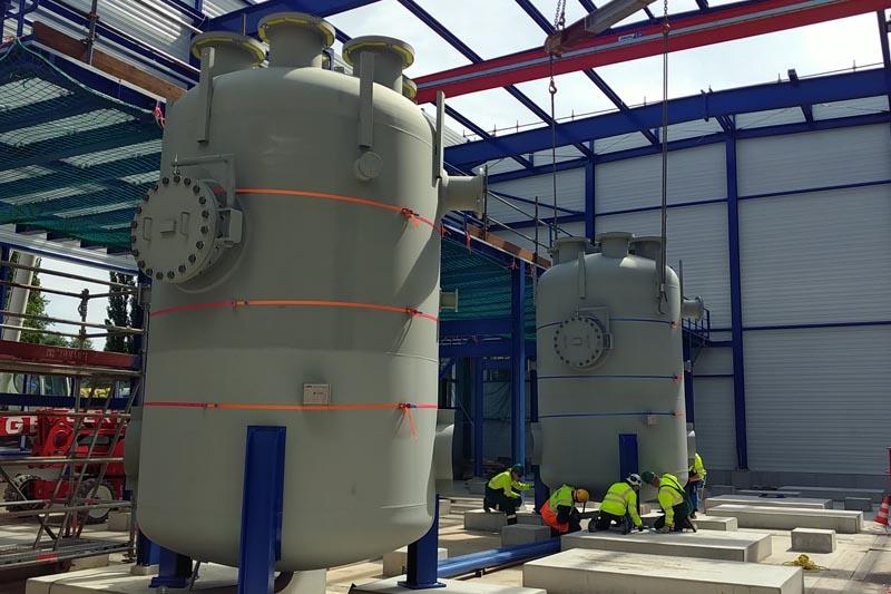 Vattenfall: Bau von Riesen-Power-to-Heat-Anlage geht voran: ZfK ...