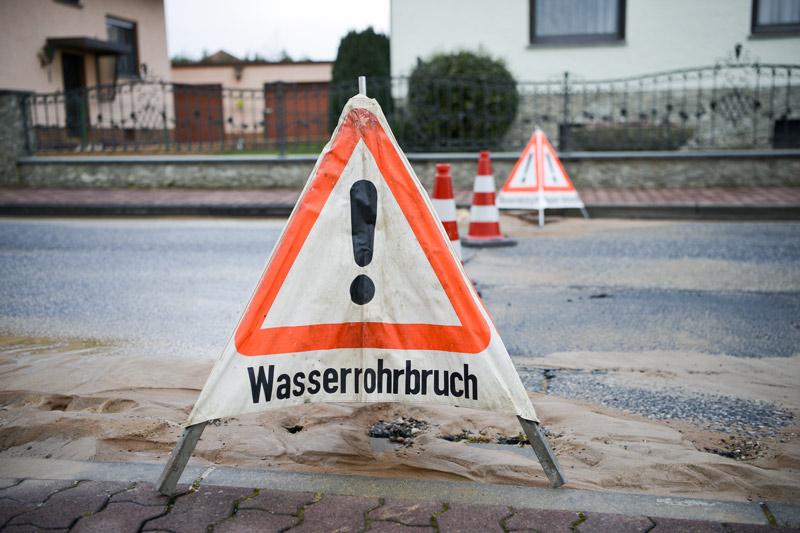 Nach Wasserrohrbruch in Rostock: Wochenlange Bauarbeiten stehen an ...